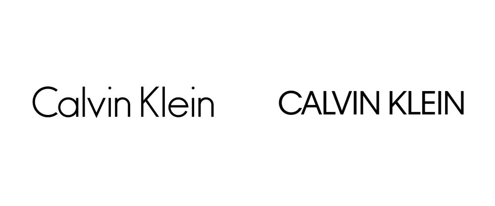 Calvin Klein rediseño de logo 2017