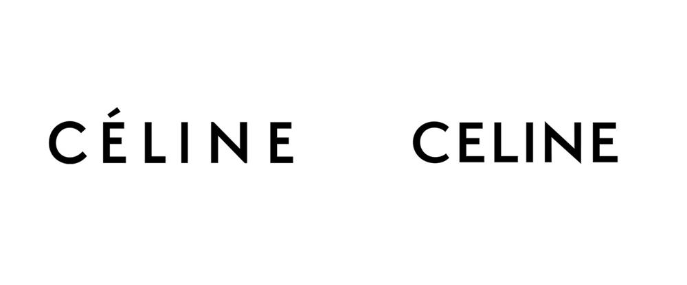 Rediseño logo celine 2018